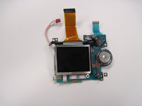 Nikon Coolpix 3500 LCD Screen Replacement