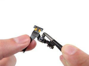 Fotocamera frontale e cavo sensori