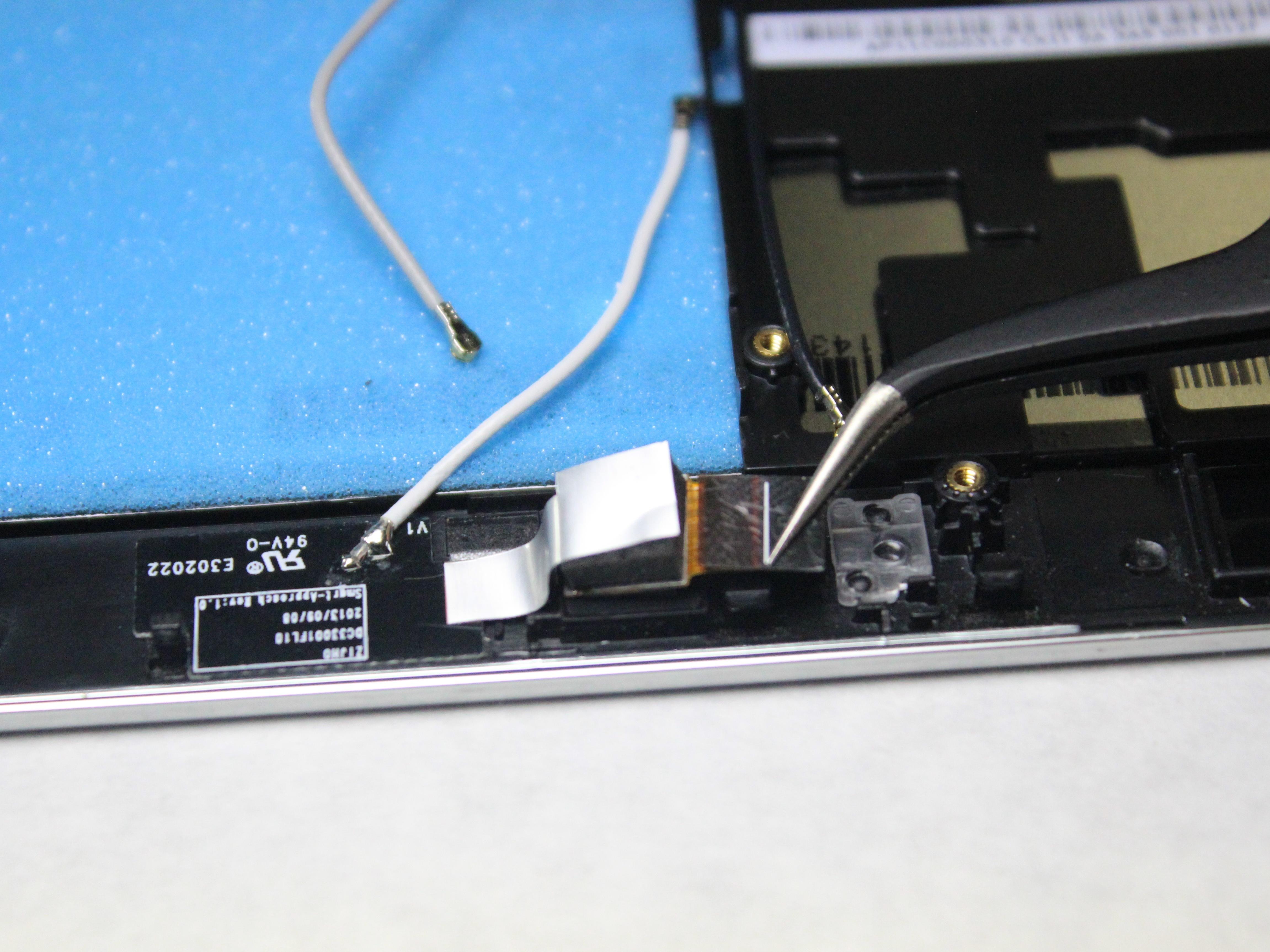 Lenovo Tablet Repair Ifixit Idea Tab A3500 Blue Miix 2 Front Facing Camera Replacement