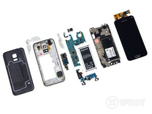 Desmontaje del Samsung Galaxy S5 Mini