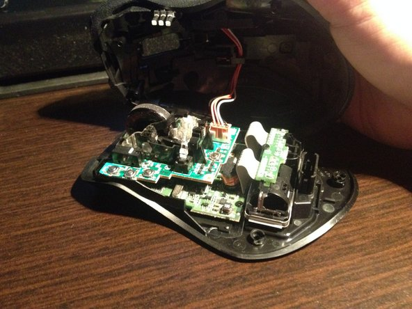 Disassembling Mouse Buttons for Logitech Wireless Gaming