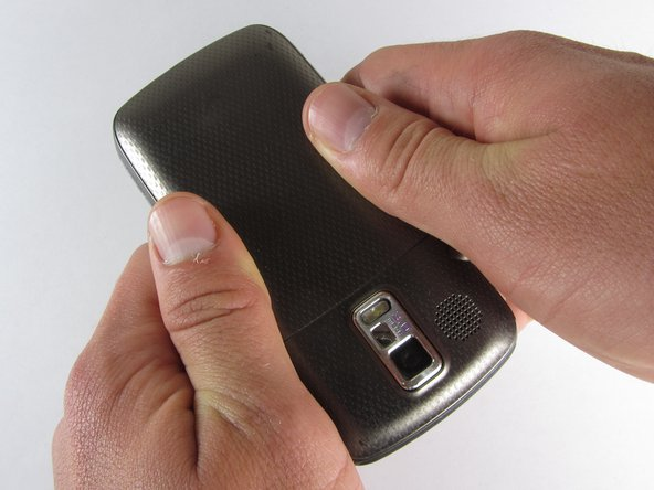 Before disassembling your Samsung Rogue, make sure it is powered off.