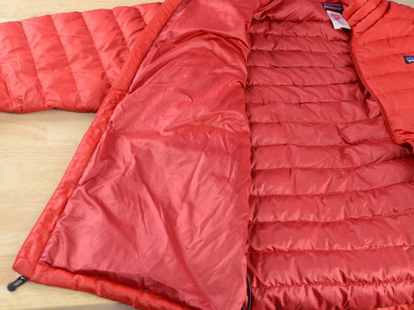 How to Access the Insides of a Patagonia Down Jacket