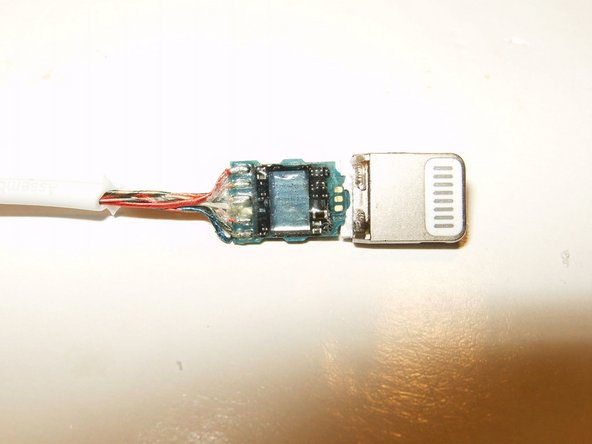 This side shows what appears to be the DAC inside this adapter