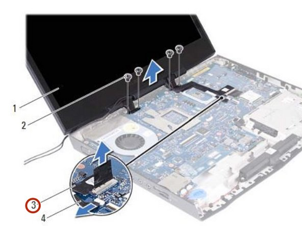 Make sure the Center-Control Cover, the Keyboard and the Palm-Rest Assembly are removed.