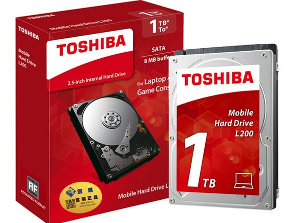 Toshiba L200 1TB 5400RPM SATA Notebook Internal Hard Drive Main Image
