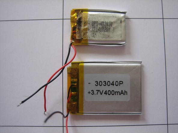 Image 3/3: See the difference between old and new battery.