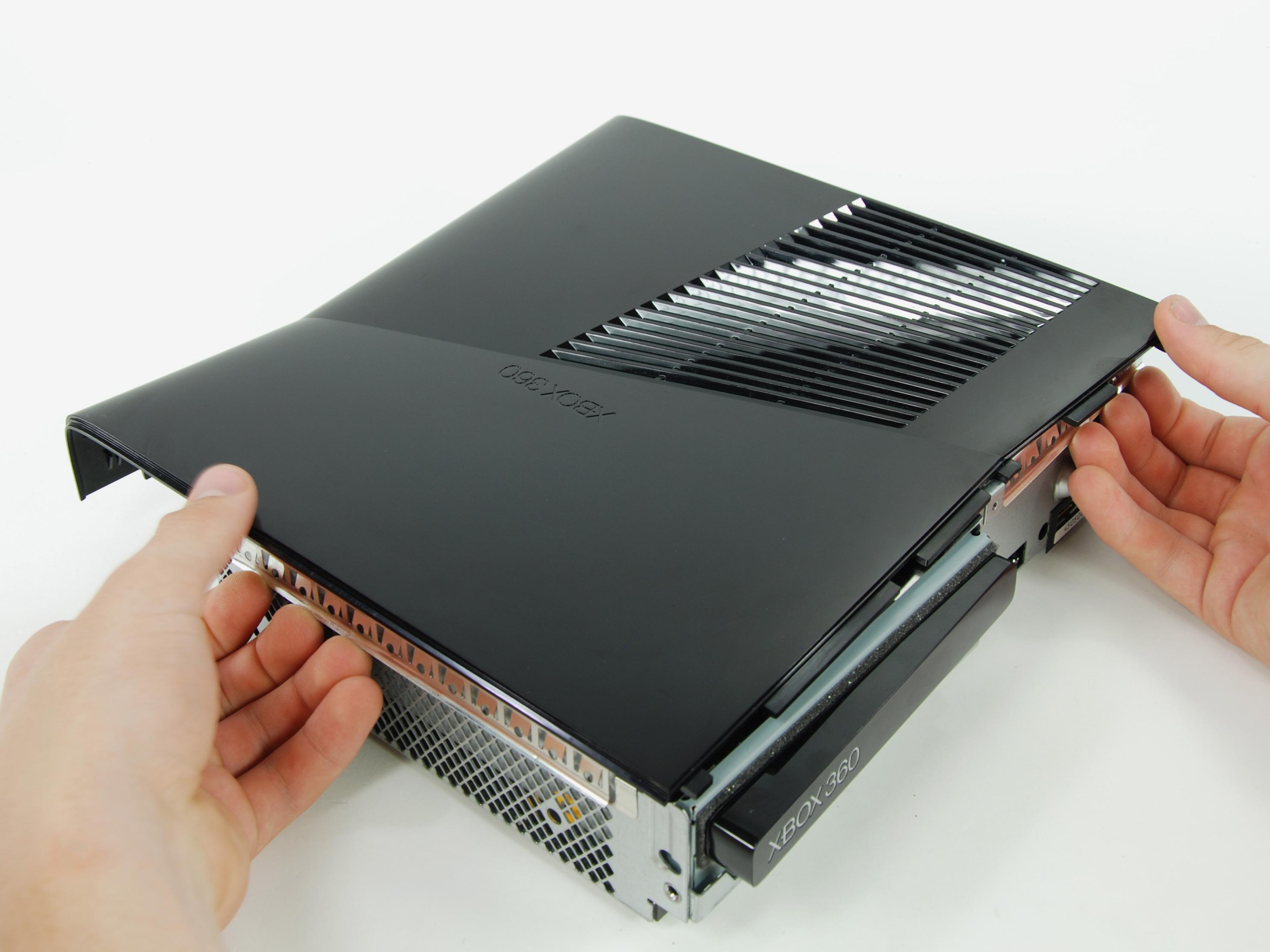 Xbox 360 S Repair Ifixit Inside Diagram Slim Motherboard Right Case