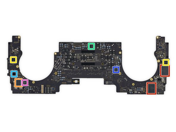 Image 1/2: SanDisk SDRQKBDC4 64 GB NAND flash storage (as seen in the Escape Edition's [https://www.ifixit.com/Teardown/MacBook+Pro+13-Inch+Function+Keys+Late+2016+Teardown/72415#s144820| removable SSD|new_window=true])—bringing the total to 256 GB