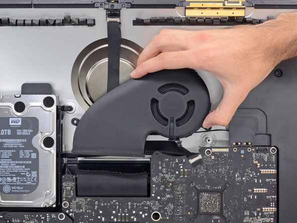 "iMac Intel 27"" EMC 2546 Fan Replacement"