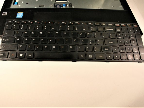 Once ribbon is removed, keyboard can be lifted out