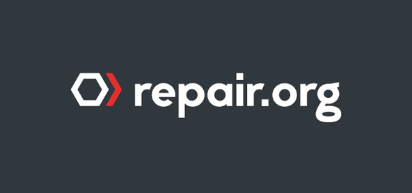 The Repair Association logo, repair.org