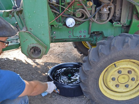 John Deere 870 Oil Change - iFixit Repair Guide