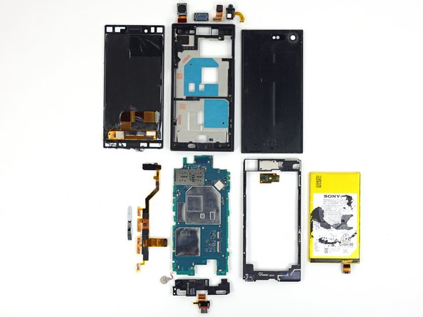 The Sony Xperia Z5 Compact earns a 6 out of 10 on our repairability scale (10 is the easiest to repair):