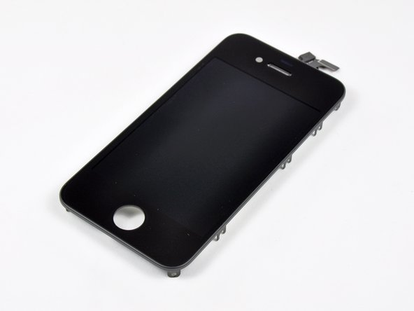 Image 1/3: The front glass panel of the iPhone is reported to be constructed of Corning [link|http://www.corning.com/gorillaglass/index.aspx|Gorilla Glass], a chemically strengthened alkali-aluminosilicate thin sheet glass that is reported to be 20 times stiffer and 30 times harder than plastic.