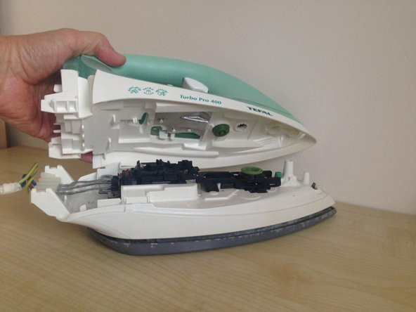 how to fix a steam iron