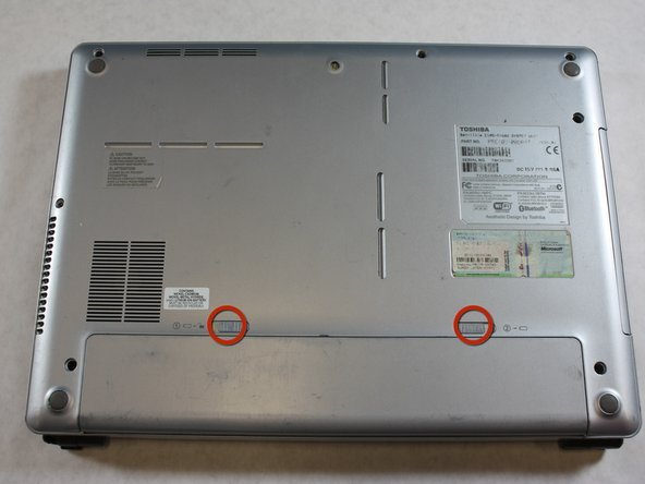 Toshiba Satellite E105-S1602 Battery Replacement
