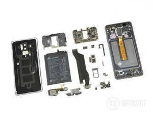 Vue éclatée du Huawei Mate 10 Pro