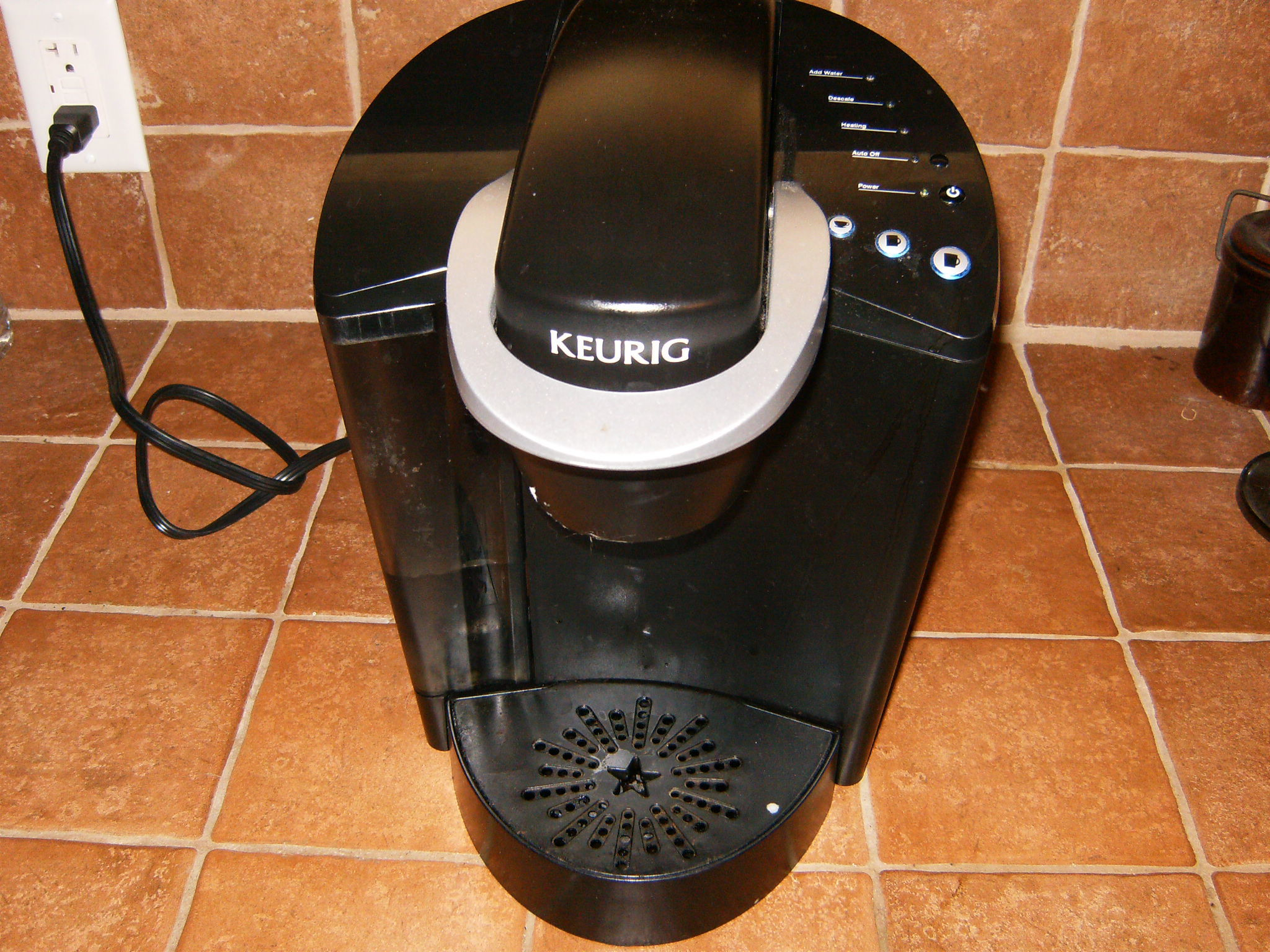 how to open and clean keurig coffee maker