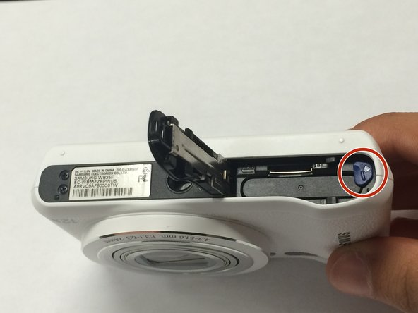 Pull the clip off and take out old battery, and replace it with new battery.