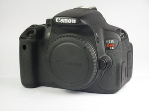 Canon EOS Rebel T4i Troubleshooting