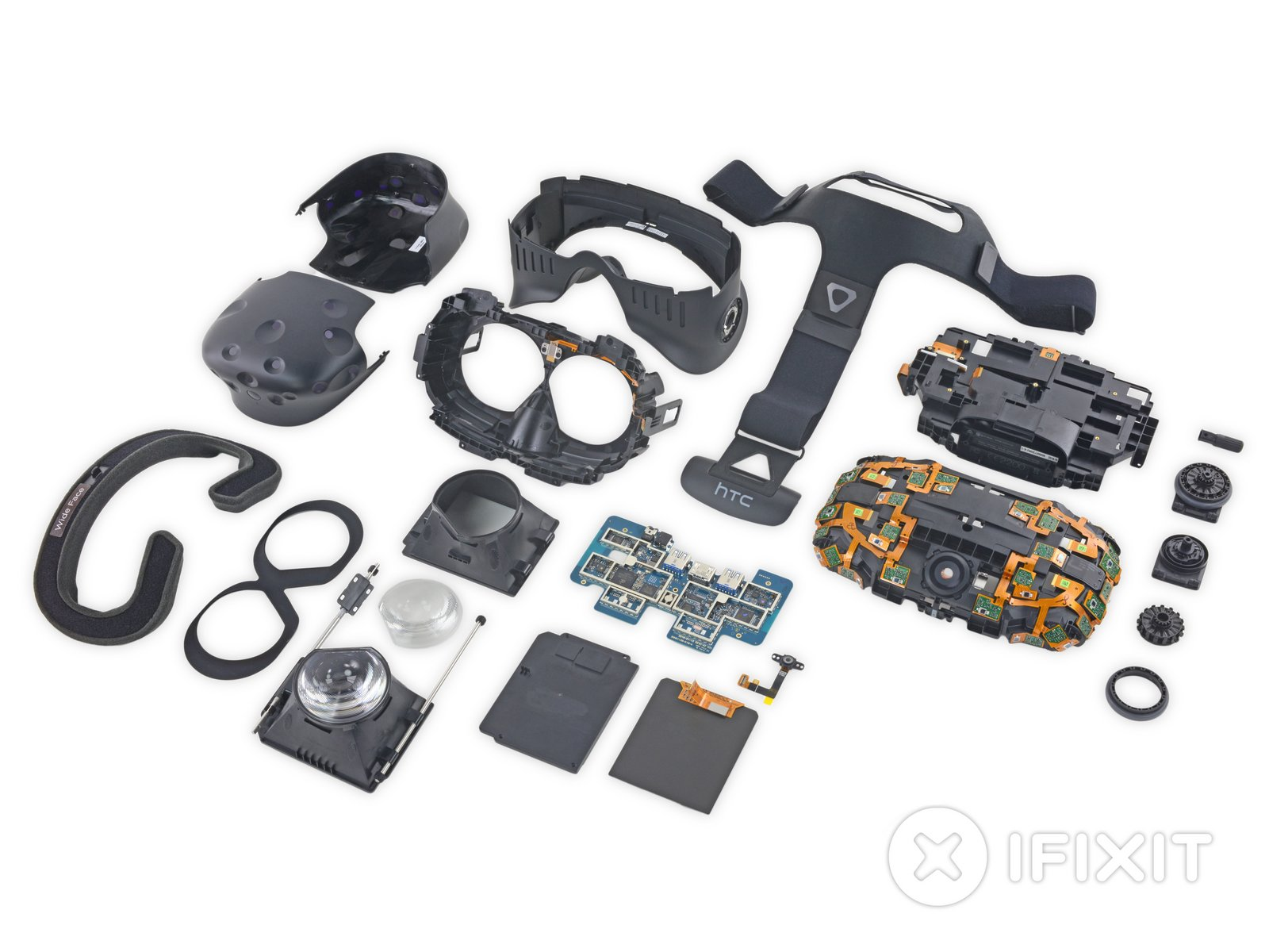Htc Vive Teardown Ifixit Logitech Ps 2 Controller To Pc Usb Wire Diagram Schematics