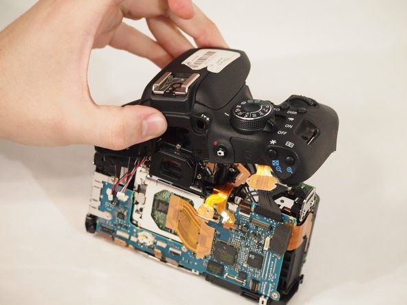 Canon EOS Rebel T6i Flash Assembly Replacement