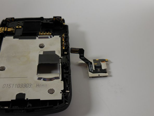 Lift SD memory card socket away from phone housing till it is removed.