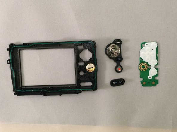 Olympus Stylus Tough TG-2 iHS Back Panel & Buttons Replacement