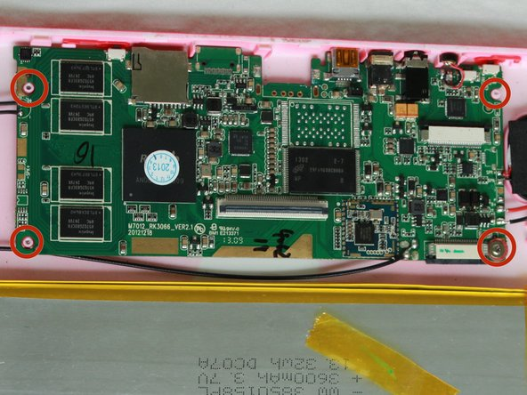 HKC P776A Motherboard Replacement