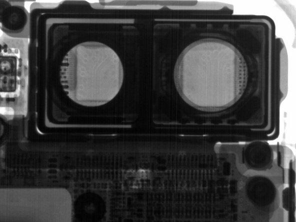 我们用X光更深入地了解这颗摄像头