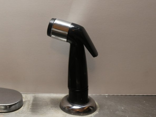 How to Repair a Broken Kitchen Faucet Pull-out Spray Head