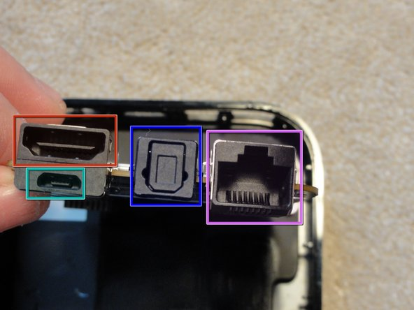 Image 1/2: Micro USB Port (used for diagnostics, and service)