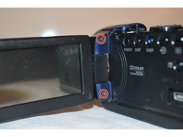 Sony Handycam DCR-SR 47 LCD Screen Replacement