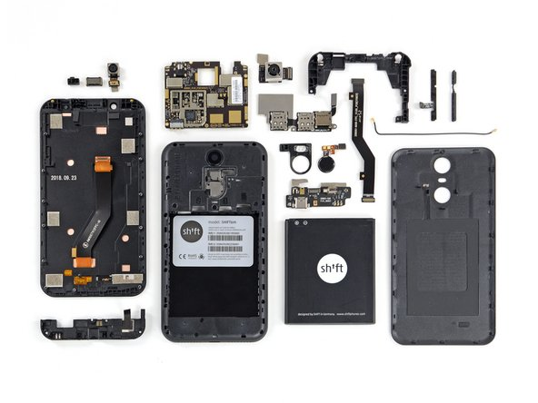 The Shift6m earns a 9 out of 10 on our repairability scale (10 is the easiest to repair):