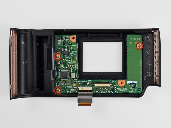 Nikon D70 LCD Board Replacement