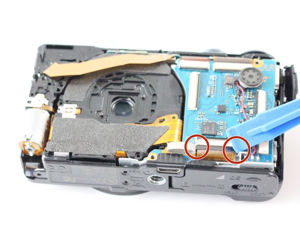 Sony Cyber-shot DSC-HX9V Lens Replacement