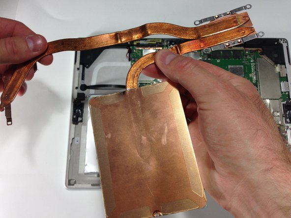 Be sure to replace the thermal paste when installing the heat sink.