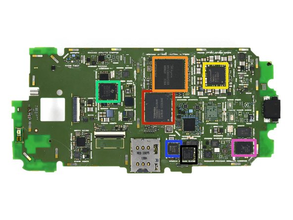Notable ICs on the motherboard: