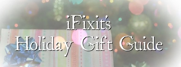 iFixit tools holiday gift guide