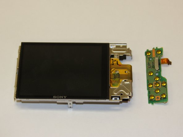 Sony Cyber-shot DSC-W690 Navigation Buttons Circuit board Replacement
