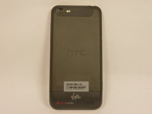 Disassembling HTC One V Back Case