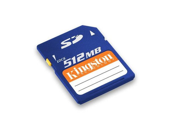 ilo 1Gb Mp3 Player SD Card Replacement