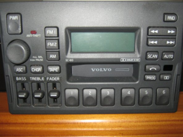 Identify the radio model number to determine if the player is compatible.  The model number in the radio  shown is SC-813, located at the top left corner of the tape slot.