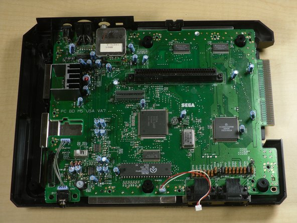 Sega Genesis Motherboard Replacement