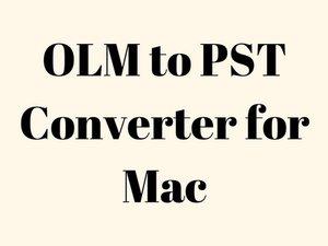 Convertitore OLM in PST per Mac per esportare Mac OLM in formato PST con allegati