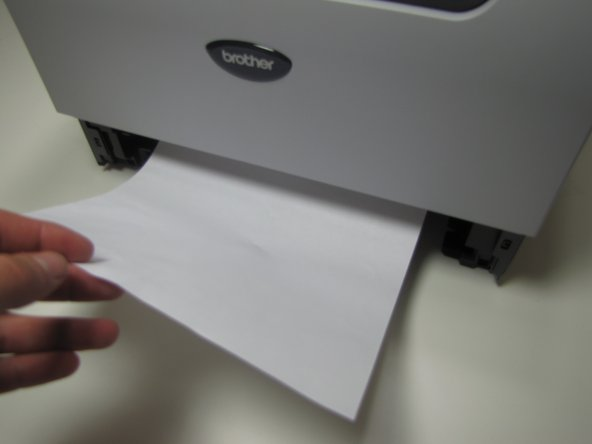 Jammed paper may require a large amount of force to be removed from printer.