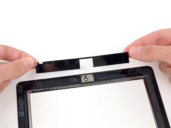 Remplacement des bandes adhésives (panneau existant) de l'iPad 4 GSM