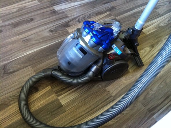 Dyson DC19 Allergy Vacuum Cleaner disassembly
