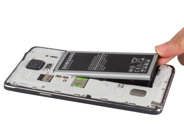 Remove battery, SIM card.